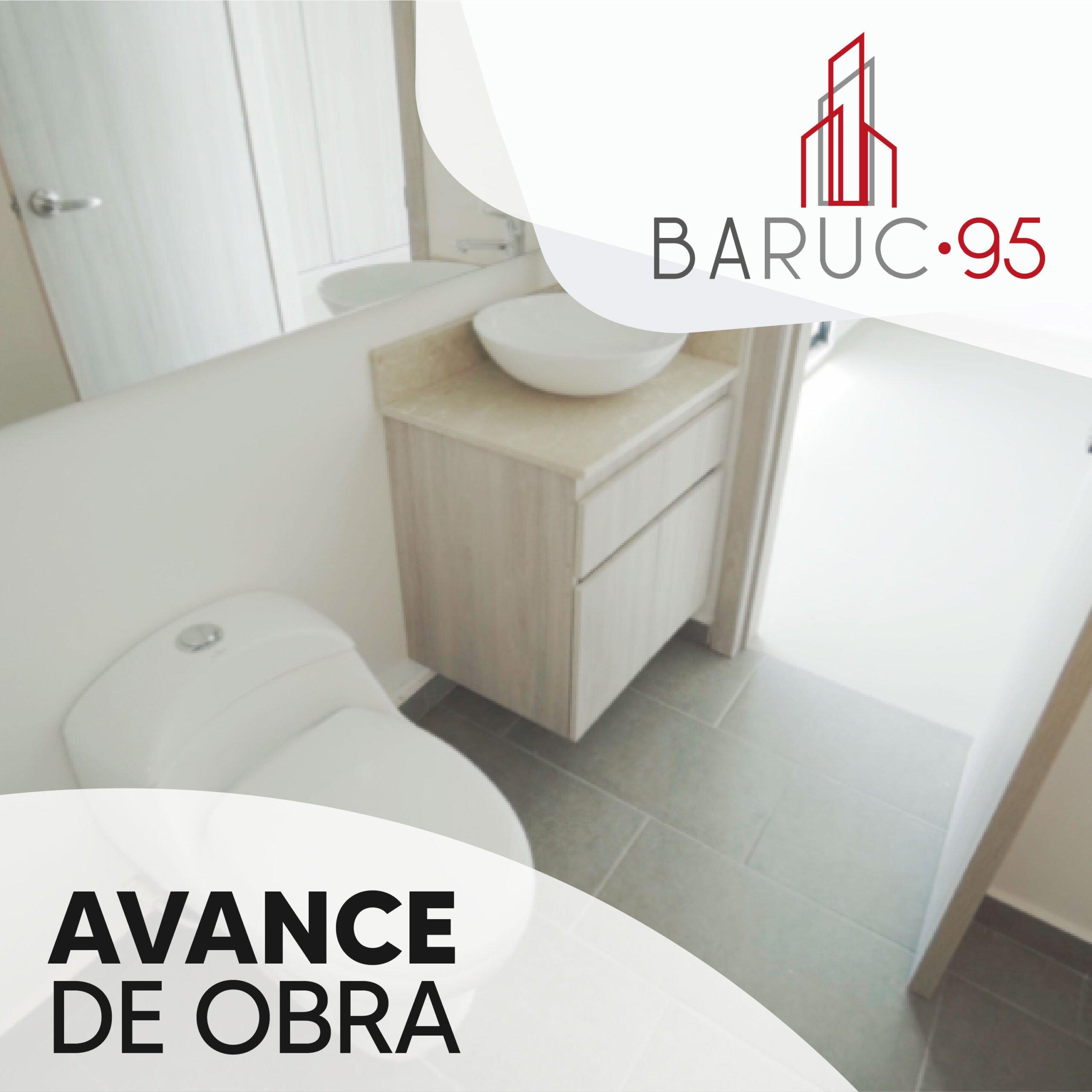 Baruc 95 avance de obras