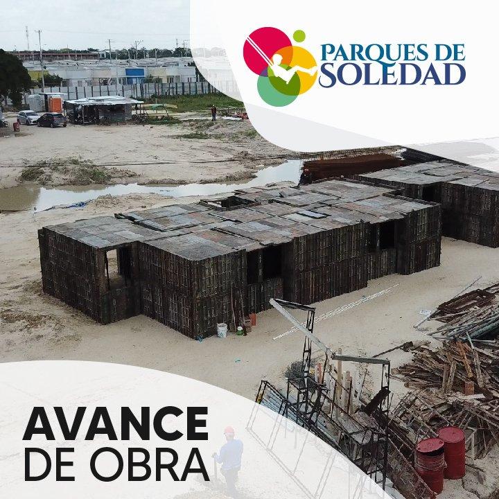Parques De Soledad avance de obras